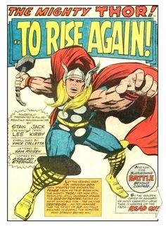 All I want from Ragnarok is for Thor to tilt back his head and deliver one line to a camera directly above him Kirby-style!