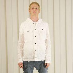 Griffin Bladecut Jacket - Smoke £395 http://www.griffin-studio.com/welcome/product/bladecut-jacket-smoke/ #griffin #griffinstudio #menswear #sportswear #fashion #lovelife #lovesummer #loveland #podlife