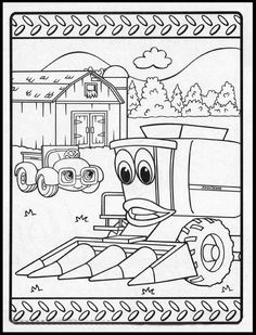 10 Free Printable John Deere Coloring Pages Online | Coloring Pages ...