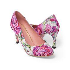 #FashionShoes #WomanShoes #HighHeels #ShoesForSale #CasualFashion #FloralShoes
