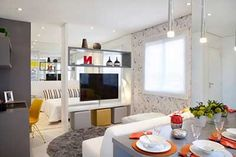 Decoração de Apartamentos Pequenos: Fotos, Dicas, Imagens