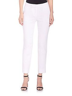 Diane von Furstenberg Genesis Pants - White - Size