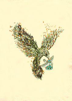 Illustrations by Budi Satria Kwan   Colossal