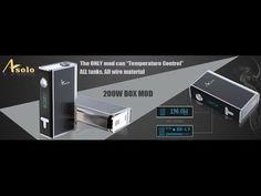 Ijoy Asolo 200 Watt Testing Sample Overview.