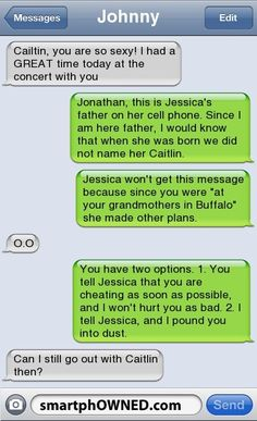 Break up texts. Some of these are HILARIOUS!