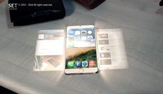 "iPhone 6 concept design with hologram projection  A new concept video called the ""iPhone 6 ​​The Dream"" has been posted online."