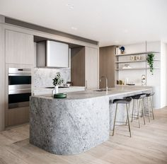 58 Best Contemporary Kitchen Design Ideas - Page 12 of 58 Kitchen Cabinet Colors, Kitchen Cabinetry, Kitchen Layout, Kitchen Colors, New Kitchen, Kitchen Decor, Traditional Home Offices, Traditional Dining Rooms, Traditional Kitchens