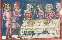 Rudolf / Jansen Enikel, Jans: Weltchronik in Versen - Mischhandschrift aus Christ-herre-Chronik um 1370 Cgm 5  Folio 186r