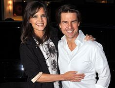 TOM CRUISE & KATIE HOLMES. The two, who wed in 2006, are still together and have a daughter, Suri.