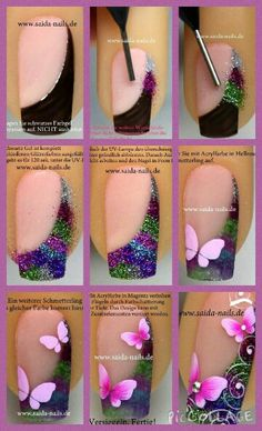 Belíssimas unhas místicas  http://www.unhartistica.com.br/passo-a-passo/belissimas-unhas-misticas/