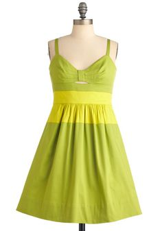 BM- Love love love this green!! We could put a navy sash around to help hide the yellow?