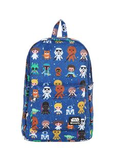 Star Wars Chibi characters on the cutest backpack!   Cool Mom Picks back to school guide 2016