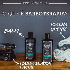A #barboterapia alia os cuidados com a barba e o relaxamento facial. Além do tradicional barbear, na barboterapia, o rosto recebe uma atenção ainda mais especial: a aplicação de óleos e essências, toalha quente e massageador facial para preparar a pele para receber a navalha. Por fim, o Balm completa o tratamento: pode ser usado tanto para fazer a barba, quanto depois do barbear, para acalmar a pele e evitar irritações. #barber #barberlife #balm #barbershop