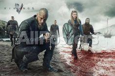 Vikings Blood Landscape People Poster - 91 x 61 cm