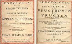 J.H. Knoop, Pomologia, 1758