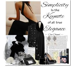 """""""Simlicity is the Keynote..."""" by mademoiselle-le-chic ❤ liked on Polyvore"""