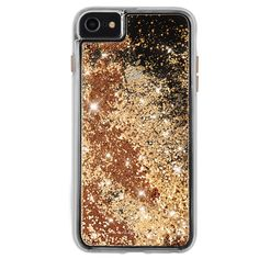 Case-Mate Apple iPhone 8 Plus Waterfall Case Gold - Waterfall Iphone 7 Plus Case - Waterfall Iphone 7 Plus Case ideas - Case-Mate Apple iPhone 8 Plus Waterfall Case Gold Bling Phone Cases, Cute Phone Cases, Iphone 8 Plus, Iphone 11, Apple Iphone, Iphone7 Case, Glitter Iphone 6 Case, Silicone Iphone Cases, 6s Plus