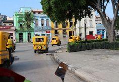 Cocotaxi's in Havana