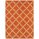Found it at Wayfair - Melrose Tangerine Atrium Rug