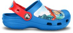 Fun Superman Crocs provide your little man of steel with superior comfort and style. Made of lightweight Crosslite with side ventilation holes for maximum breathability to keep little superheros' feet cool and comfy. Plus, kids can personalize them! Kids Clogs, Superman Kids, Man Of Steel, Little Man, Kids Fashion, Comfy, Superhero, Sandals, Boys