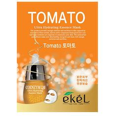 EKEL Tomato Ultra-Hydrating Essence Facial Mask Sheet Pack 1PCS K-Beauty #EKEL