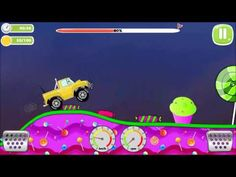 Offroad Jeep Racing On Candy Land 1