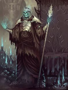 Disfavored Undead Mage
