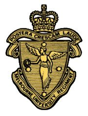 The Melbourne University Regiment (MUR) is an officer training unit in the Australian Army Reserve (ARes). It has a depot at Grattan Street, Carlton, Melbourne, Australia.The unit became the Melbourne University Rifles in 1910, providing military training for members of Melbourne University and the public schools of Melbourne and Geelong.