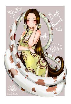 Boa Hancock by KenzakiKanata.deviantart.com on @DeviantArt