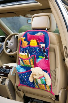 Make this out of oilcloth and it would work as a mud guard for the back of the front seat as well!