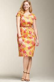 Form Flattering Flowery Dress. Say that 5 times
