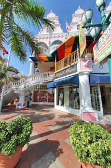 Shopping in Aruba. You can visit Curacao and Bonaire too - the ABC islands.Aruba, Curacao and Bonaire.