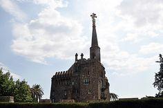 Torre Bellesguard. Antoni Gaudí. Barcelona