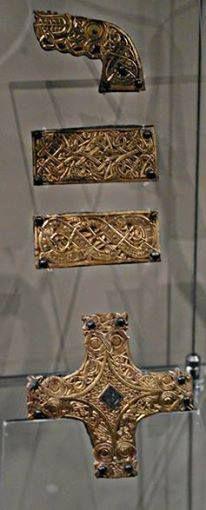 Valsgärde 6 shield horse harness detail— at Historiska Museet. Photograph courtesy of M.Bunker 2.jpg