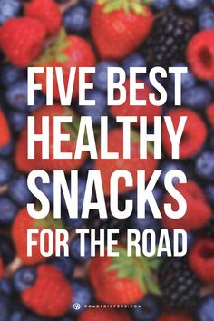 Five tasty and brilliant snacks to pack for your road trip!