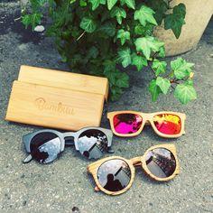 #Bambus #Sonnenbrillen #bambuu Sunglasses, Sunnies, Shades