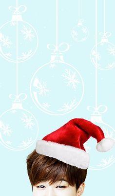 """MERRY CHRISTMAS EVERYONE!!⭐️  Free #BTS Christmas themed phone wallpapers for you guys! Enjoy~   [Jungkook + Jimin]"""