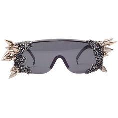 Sabotage Sunglasses ($625) ❤ liked on Polyvore