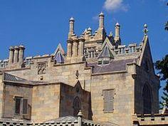 Lyndhurst (mansion) - Architectural detail of Lyndhurst