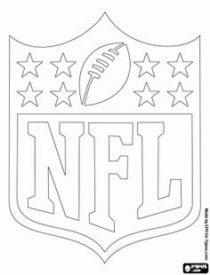 nfl team logos coloring pages - free template stencil houston texans nfl templates