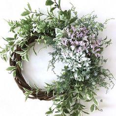Bouquet, Wreaths And Garlands, Sendai, Summer Wreath, Grapevine Wreath, Grape Vines, Flower Arrangements, Floral Wreath, Birds
