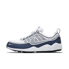 purchase cheap 91de6 0a479 Shop now for great discounts on Nike Air Zoom Spiridon White Light  Midnight Silver Mens Running Shoes. Get free socks for any order.