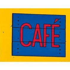 Caulfield: Cafe Sign (custom print)| Custom prints | Tate Shop