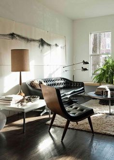 Flooring | Damsel in Dior am pretty anti-carpet so I am hoping we can pull off hard wood floors in every room. I like the idea of softening up the living room by adding a huge area rug, or layers lots of smaller rugs, for a cozier feel.
