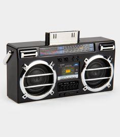 FredFlare.com - Mini Boombox MP3 Speaker - Shop All Gadgets