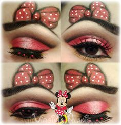 Minnie+Mouse+http://www.makeupbee.com/look.php?look_id=82857