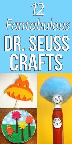 12 Fantabulous Dr. Suess Crafts