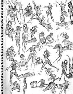LeSean Thomas - human form sketch