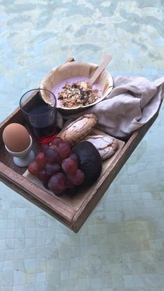 Why have breakfast in bed when you could have breakfast in the pool? Set the tray with Balmuir's beautiful linen napkins.  #balmuir #home #linen #pool #poolinspiration #breakfast #inspo #instagram #homedecor #summer #interiordesign #decor #interior New Tone, Balearic Islands, Breakfast In Bed, Linen Napkins, Natural Materials, Interior Decorating, Tray, Touch, Make It Yourself