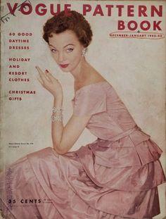 Vogue Pattern Book 1953, model Ivy Nicholson